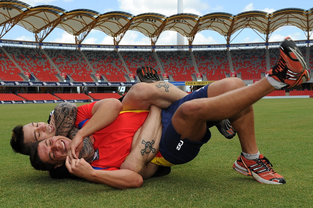 Gold Coast Suns Adopt a Grappling Program