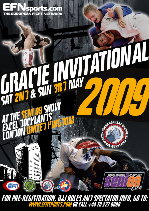 Gracie Invitational 2009 5/2-3