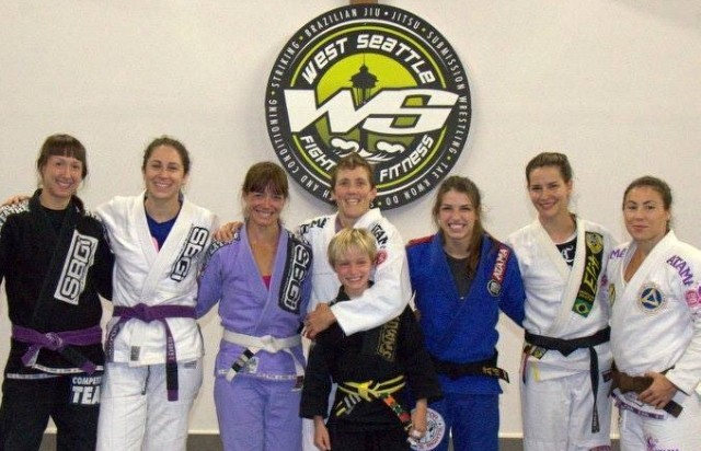 Love & Grapplin' Gals: Sonia Sillan's Straight Blast Gym of Seattle