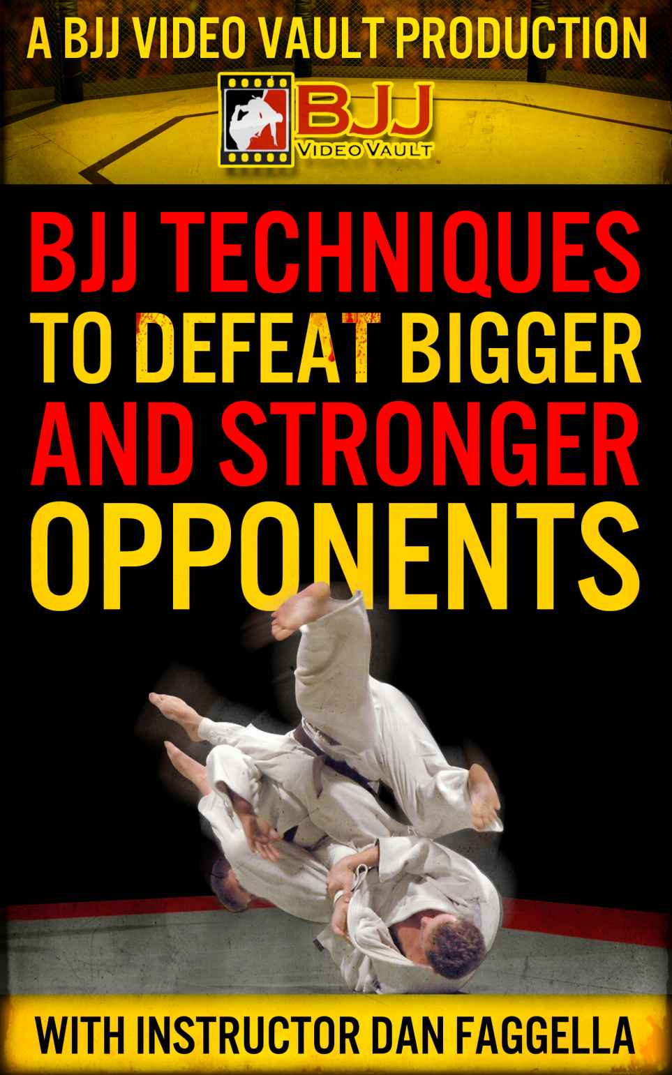 Book Review: BJJ Techniques to Defeat Bigger, Stronger Opponents by Dan Faggella
