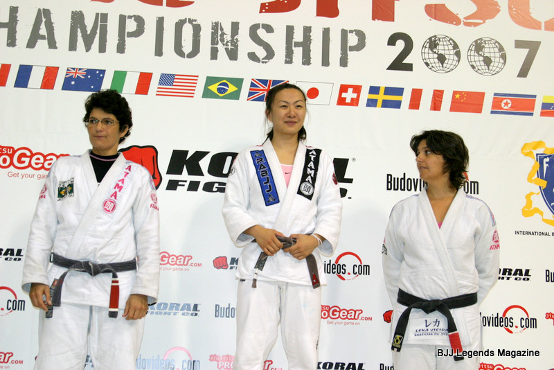 First American Female Black Belt to Win the Worlds?