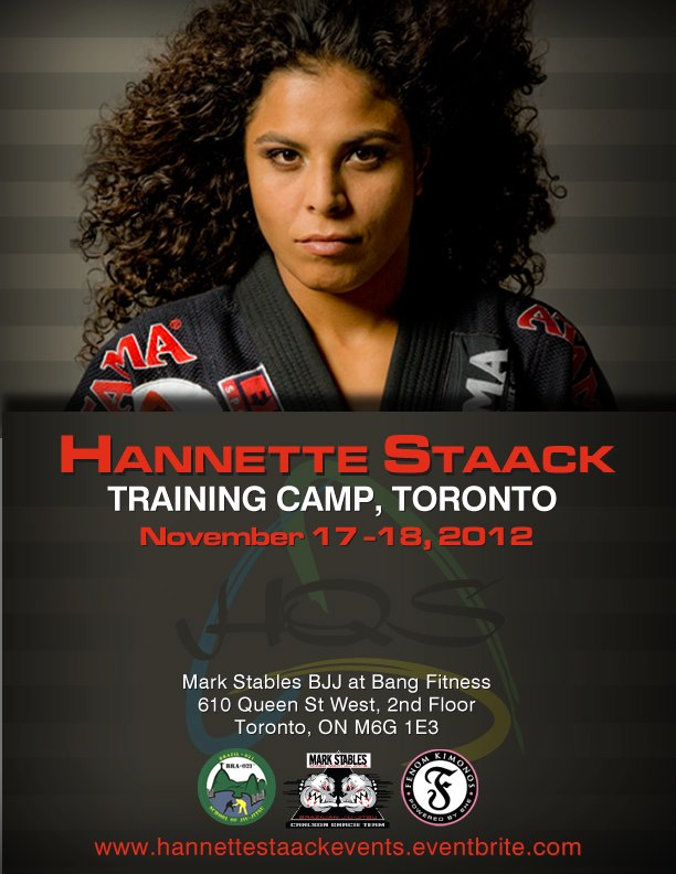 Hannette Staack breaks down the elusive Flying Armbar