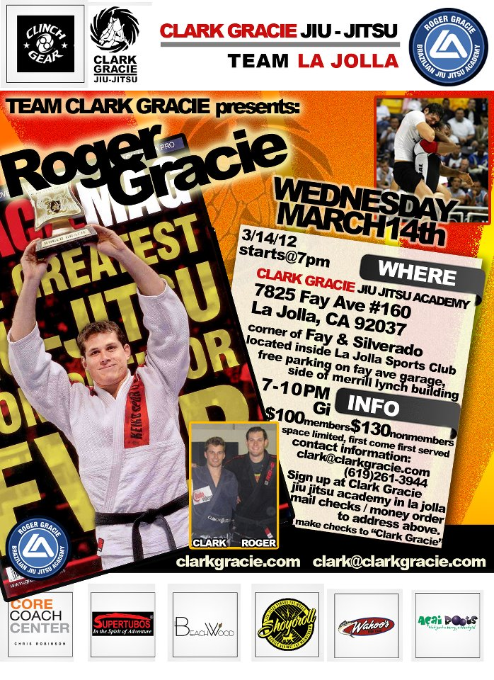 Roger Gracie Tonight La Jolla California