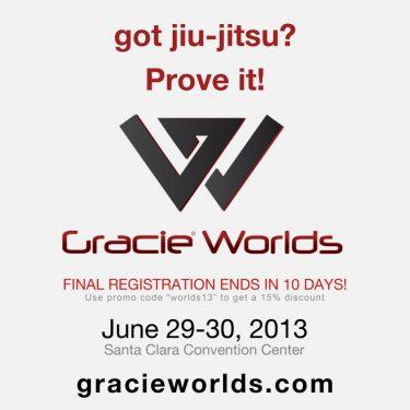 Got Jiu-Jitsu? Prove it! Gracie Worlds