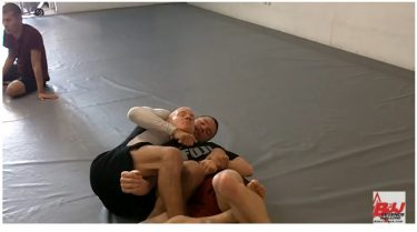 Jeff Rockwell of Paragon Austin Shows a Crucifix from the Sitting Guard