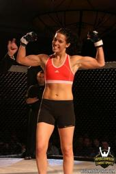 MMA fighter Jessica Bednark