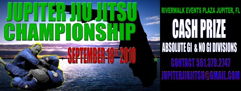 Jupiter Jiu Jitsu Championships – Cash Prize – (9/18 Tournament)