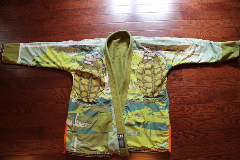 Gi Review: Platinum Jiu Jitsu the Grenada (A3)