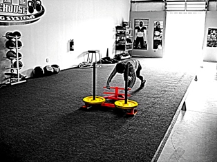 BJJ Conditioning With The Prowler