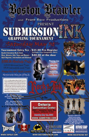 So Cal Grapplers: May 1st Submission Ink Event