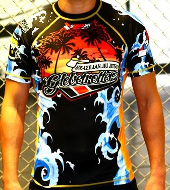 BJJ Globetrotter Rash Guard