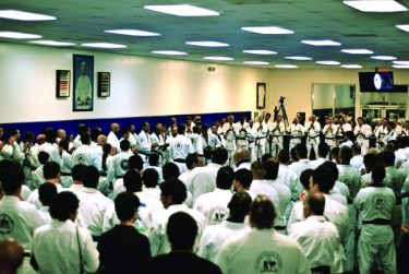 Valente Brothers and Royce Gracie Hold Huge Belt Ceremony