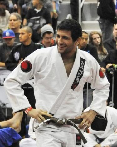 Beneil Dariush and Kron at the 2012 San Diego Abu Dhabi Trials