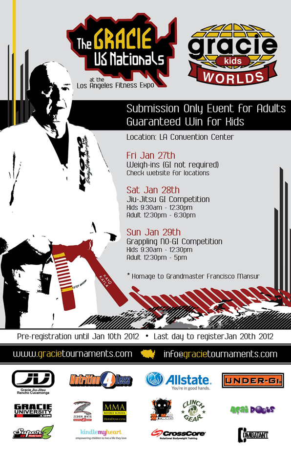 The Gracie US Nationals 2012