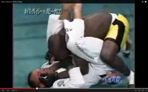 Royce Gracie & One Of The More Unique Fights Of His Career Against Bobby Ologun