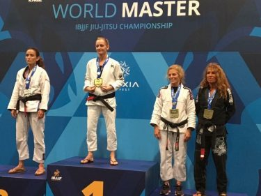 Bernie Bishop from Australia becomes Masters World Champion