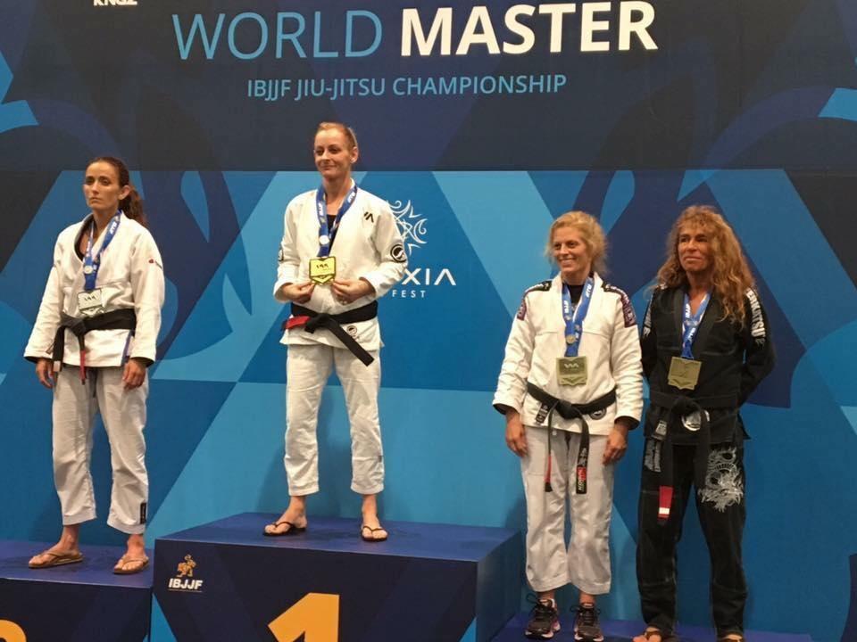 Bernie Bishop from Australia becomes Masters World Champion