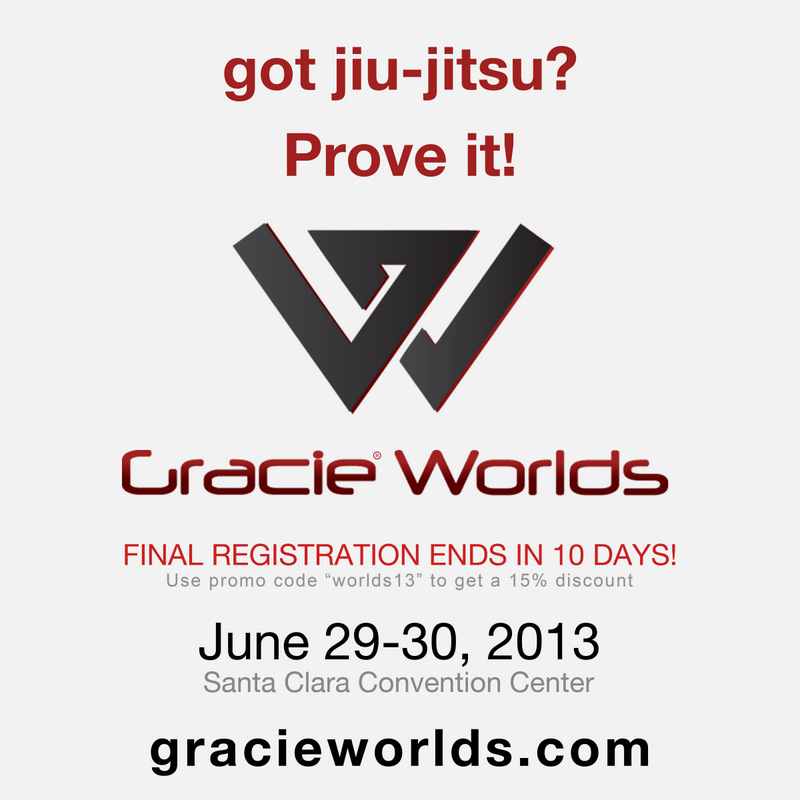 Got Jiu-Jitsu? Prove it! Gracie Worlds