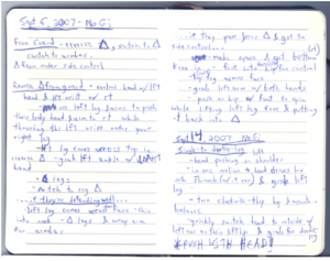 Why and How to Keep a BJJ Notebook