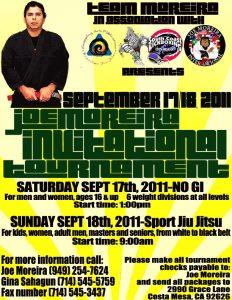 Joe Moreira Invitational Tournament