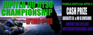 Jupiter Jiu Jitsu Championships – Cash Prize – (9/18 Tournament)
